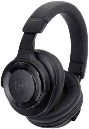 Audio Technica Solid Bass Wireless Headphones with Mic and Controls (ATH-WS990BT)