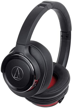 Audio Technica Wireless Bluetooth Solid Bass Headphones (ATH-WS660BTBRD)