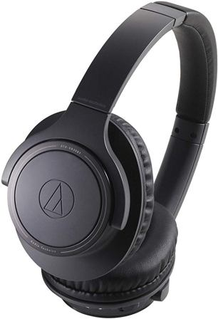 Audio Technica Wireless Over Ear Charcoal Gray Headphones (ATH-SR30BTBK)