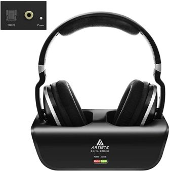 Artiste ADH300 Wireless TV Headphones