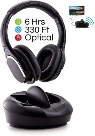 Pop Design TV Headphones With Dock