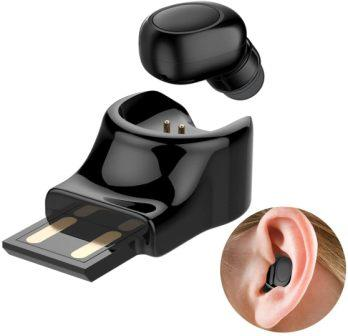 Hobest Bluetooth V4.1 Wireless Mini Invisible Car Headset