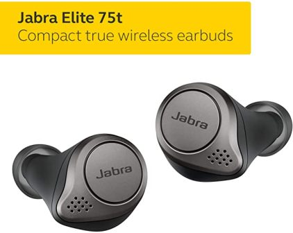 JABRA ELITE 75T COMFORTABLE EARBUDS