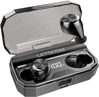 LETSCOM Wireless Earbuds