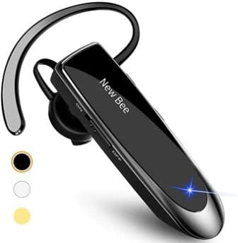 New Bee Bluetooth Earpiece V5.0 Handsfree Headset