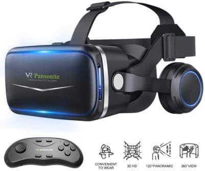 Pansonite A10-IP01CB-3 Virtual Reality Headset