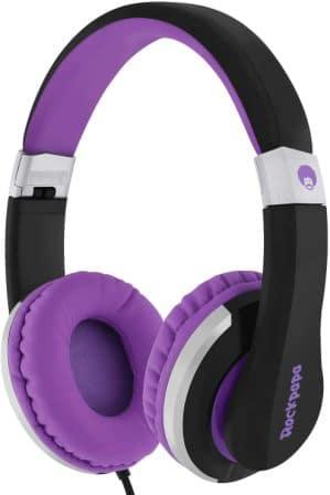 Rockpapa I22 Foldable Adjustable On Ear Headphones