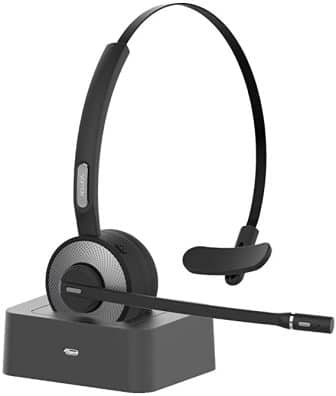 YAMAY Wireless Headset with Microphone