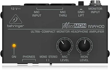 Behringer MicroMON Headphone Amplifier, MA400