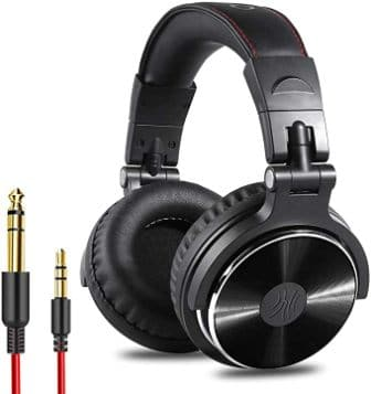 OneOdio Pro-10 Professional Studio Monitor Headphones