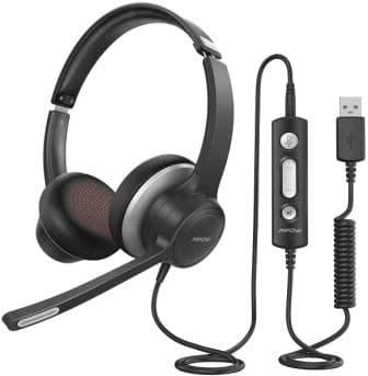 Mpow HC6 USB Headset with Microphone