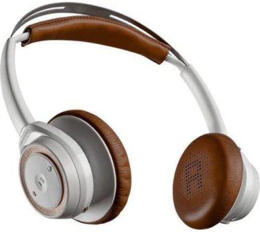 Plantronics Backbeat Sense Wireless Bluetooth On-ear Headphones with Mic